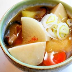 何故か懐かしい・新潟の郷土料理!のっぺい汁