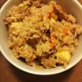 豚肉と栗の炊き込みご飯