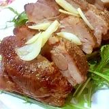 ガーリックバターDE塩豚ロースト
