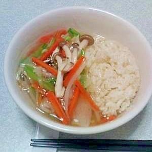 野菜のあんかけ丼☆