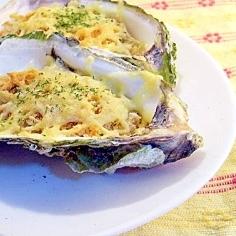 牡蠣のマヨチーズ焼き
