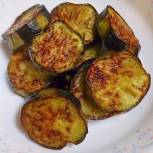 茄子・ジャガイモのオリーブオイル焼き