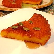パンケーキミックスで★簡単しっとりかぼちゃケーキ