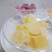 粉末ジュースを使って♪本格派フルーツグミ