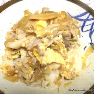 ガッツリ系の満足感たっぷりな、卵とじ豚丼