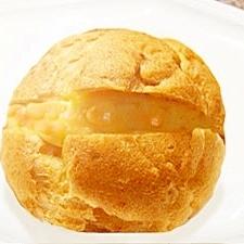パンプキンシュークリーム(かぼちゃのシュークリーム