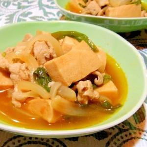 高野豆腐のコチュジャン煮