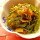 生姜入り♪切り昆布とちくわの炒め煮