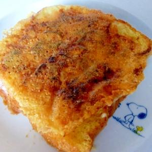 ☆ベーコンとオニオンのカリカリチーズトースト☆