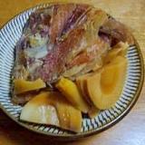 圧力鍋 鯛のアラ炊き