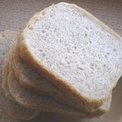 HBでつくる砂糖&バターなし食パン・ホシノ酵母使用