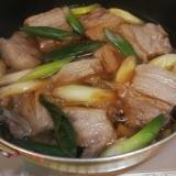豚の角煮 ねぎと生姜入り