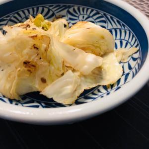 ざく切りキャベツのバター醤油焼き