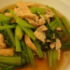 新鮮な小松菜を手に入れたら煮浸しに!