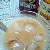 HERSHEY'Sで☆チョコミルク烏龍ティー♪