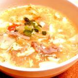 あったか☆酸辣湯風スープ