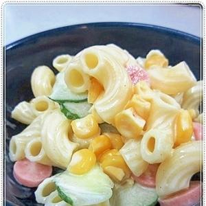 電子レンジで超簡単☆マカロニサラダ♪