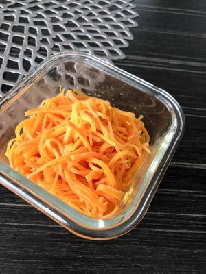 お弁当に☆レンジで人参の味噌マヨ和え
