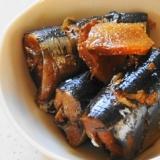 丸ごと骨ごと食べられるサンマの生姜酢煮
