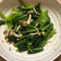 超簡単!鍋一つで小松菜&しめじ の煮浸し