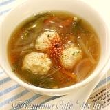 ●肉団子の中華あんかけ●薄めてスープにも♪
