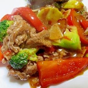 簡単 豚肉と夏野菜のオイスターソース炒め
