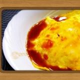 炊飯器で作る簡単オムライス