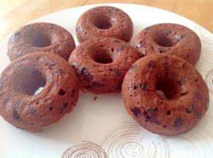 焼きチョコドーナツ