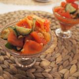 キムチ納豆サラダ❁⃘
