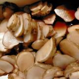 菊芋の梅酢醤油漬け