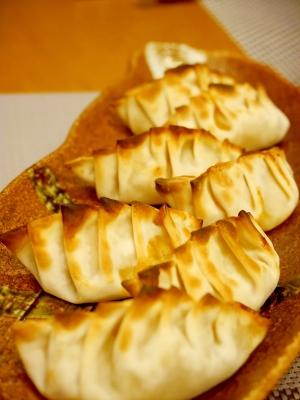 キャベツのピリ辛餃子★トースター調理でヘルシー