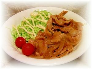 時短&シンプルな豚の生姜焼き