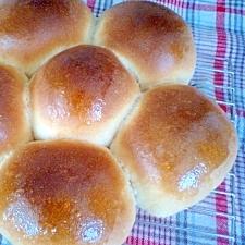 ふんわり♪メープルシナモンのちぎりパン(手ごね)