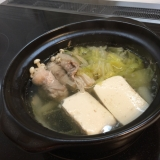 ひとり湯豆腐〜えのきの豚巻き〜