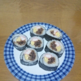 簡単‼子供も大好き♥お肉の巻き寿司