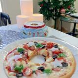☆☆クリスマス リースピザ☆☆