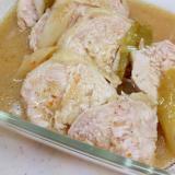 ポリ袋調理(^^)鶏むね肉のイタリアンドレッシング