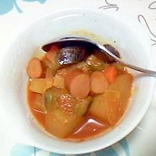 ラタトゥイユ風!冬瓜のトマト煮込み++