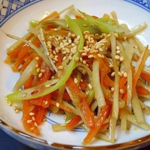 定番お惣菜☆ 生姜風味「きんぴらごぼう」