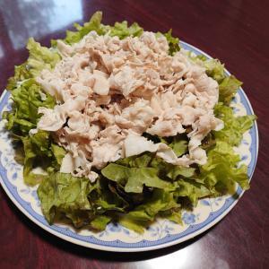 豚肉の冷しゃぶサラダ