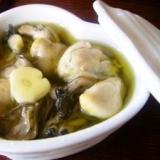 簡単オードブル 牡蠣のオリーブオイル漬け