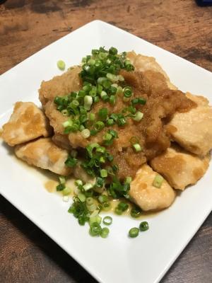 サッパリ美味しい、鶏むね肉の甘辛みぞれ煮