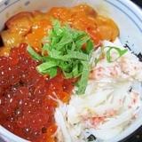 ご当地グルメ決定版☆ 「函館海鮮三色丼」