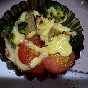 帆立と野菜のマヨネーズ焼き