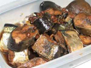 秋刀魚の山椒醤油煮