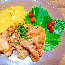 生姜ジャムで下味☆豚の生姜焼き