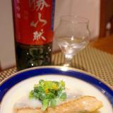 今が旬、鱒と菜の花の豆乳クリーム煮