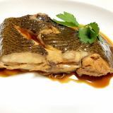 煮魚の黄金比♪フライパンで本カレイの煮付け
