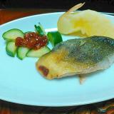 鯖のフライパン焼きプレート