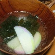 【激速】【汁物】【5分】かまぼこ中華スープ